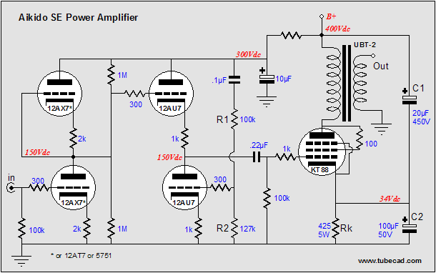 Three-Switch Stepped Attenuators & Aikido SE Amplifiers