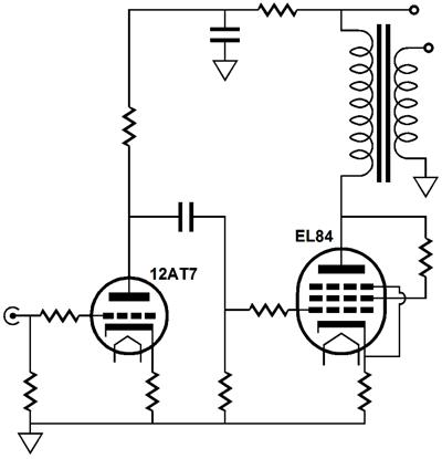Flea-Power OTL Amplifier