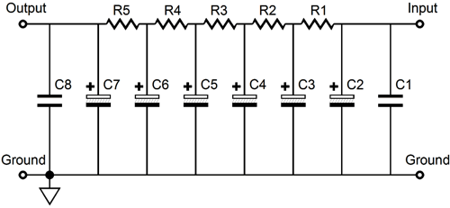 voltage filter circuit