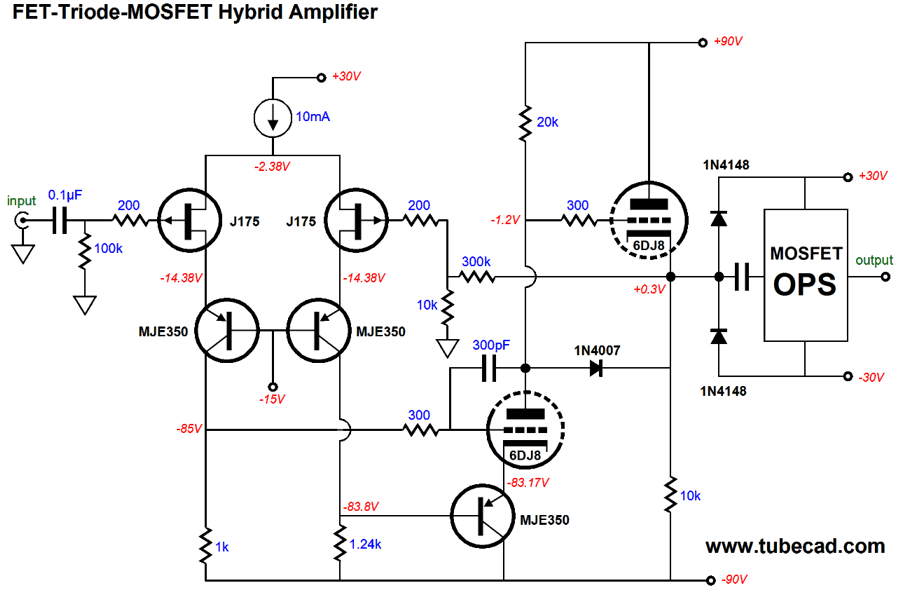 More Hybrid-Amplifier Design