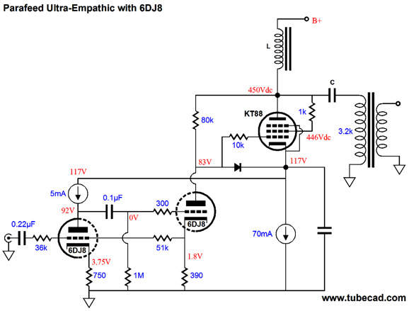 Parafeed-Amplifier Design