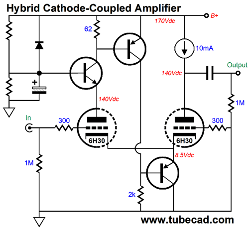 ACF 12Vac and Cathode-Coupled Amplifiers
