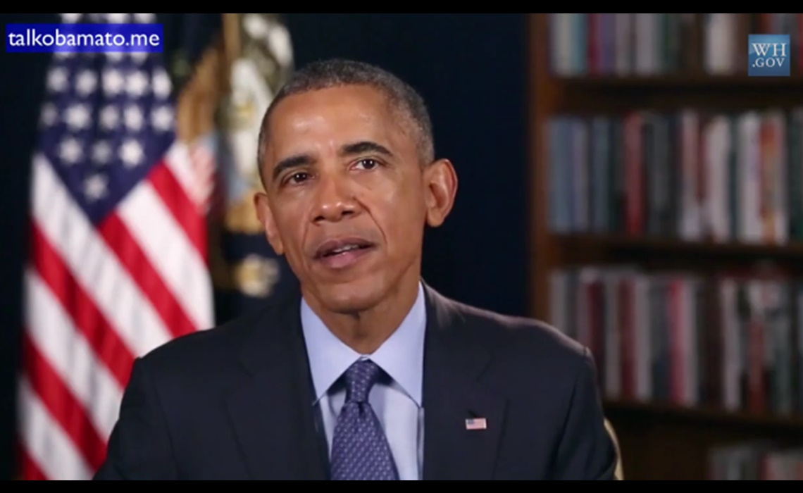 With Talk Obama To Me Users Put Words In The President