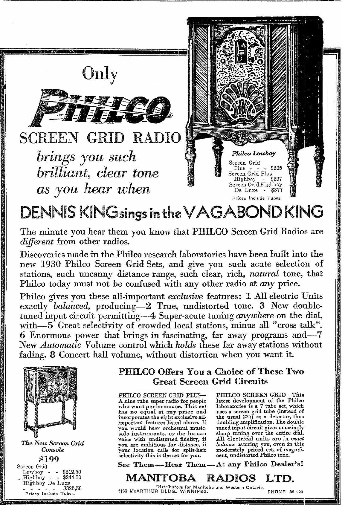 Philco Model 76 Console Radio