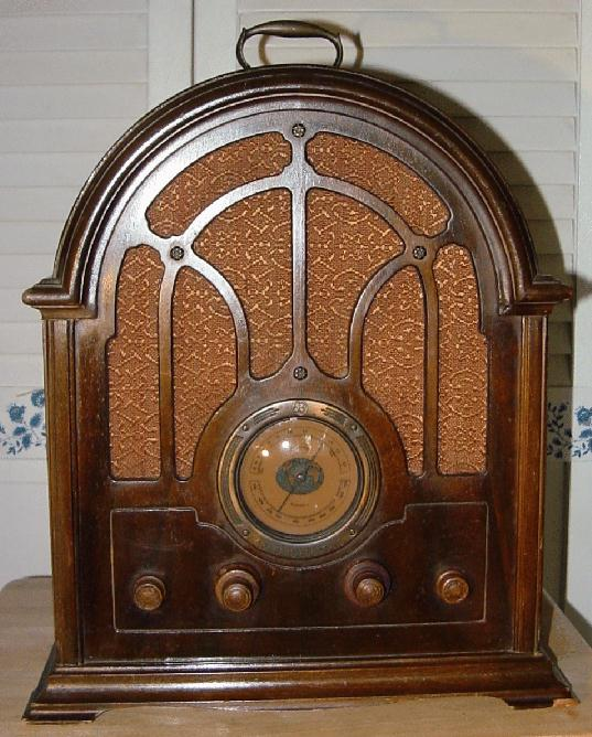 General Electric GE Model K64 Cathedral Radio 1933