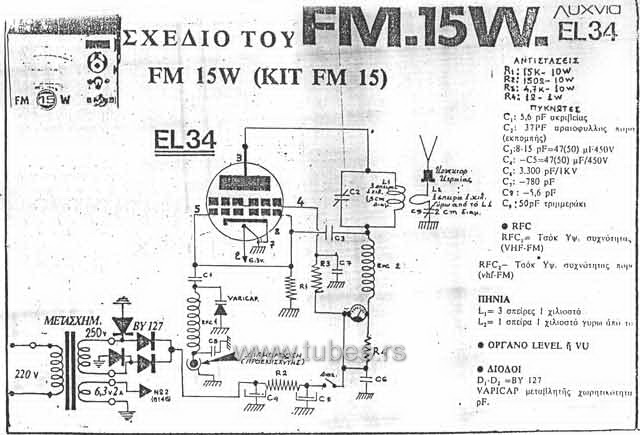 Pirate Radio FM Transmitter with EL34 | TUBES.RS