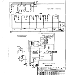 a c dayton company navigator power pack antique electronica c dayton company navigator power pack schematic [ 1696 x 2200 Pixel ]