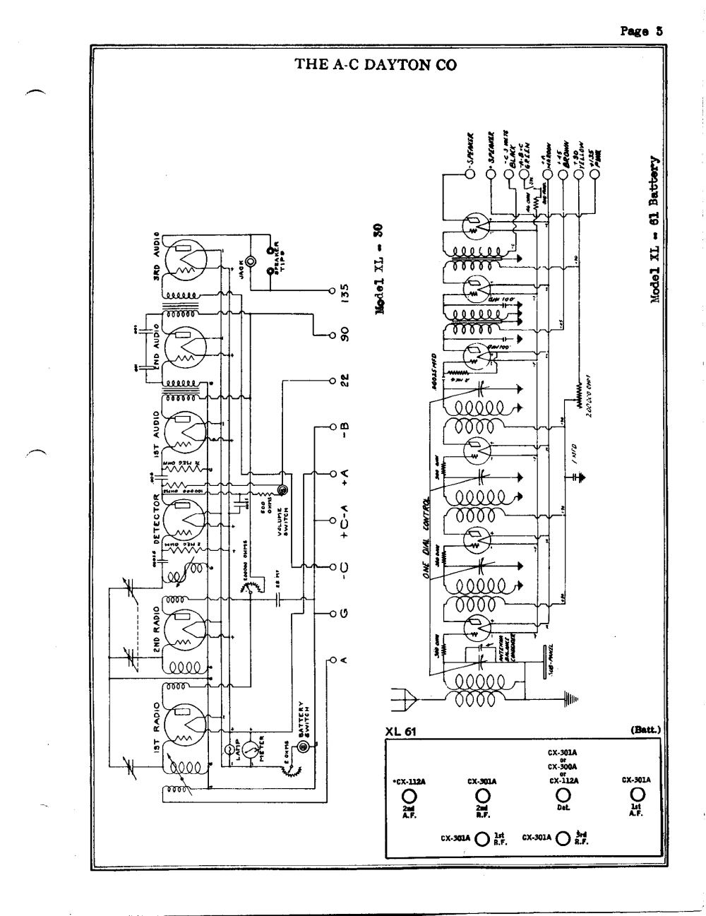 medium resolution of a c dayton company xl30 schematic