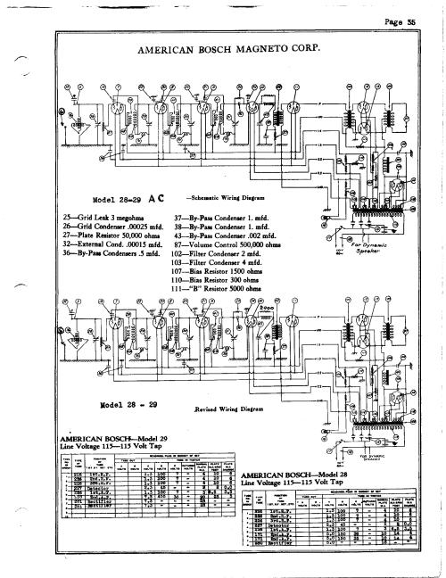 small resolution of american bosch 28 schematic