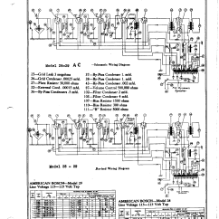 Bosch Oven Wiring Diagram Ford Telstar 2 0 Distributor American 29 Antique Electronic Supply