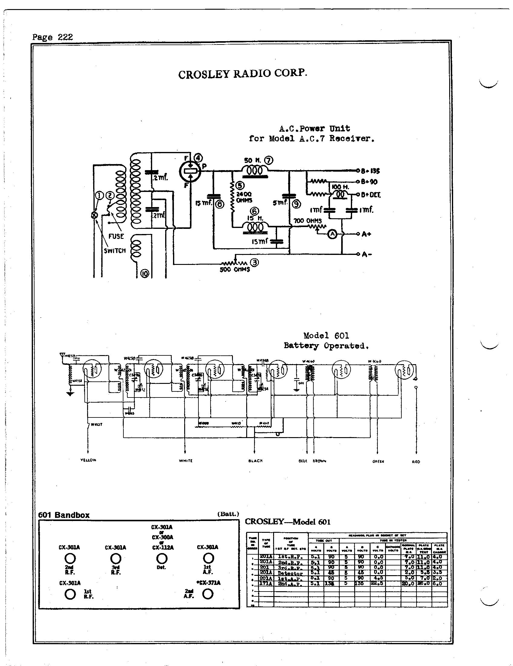 Cool Crosley Radio Wiring Diagram Book Basic Electronics Wiring Diagram Wiring Database Wedabyuccorg