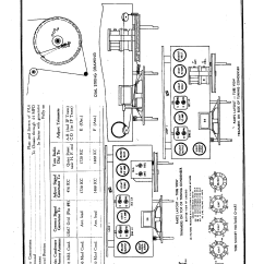 Delco Radio Wiring Diagram Safc Corp R 1235 Antique Electronic Supply