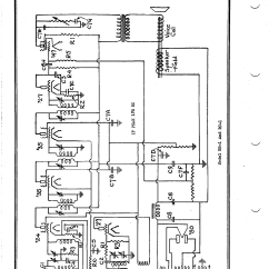 Delco Car Radio Stereo Audio Wiring Diagram 2001 Chevrolet Cavalier Corp Rb 1 Antique Electronic Supply