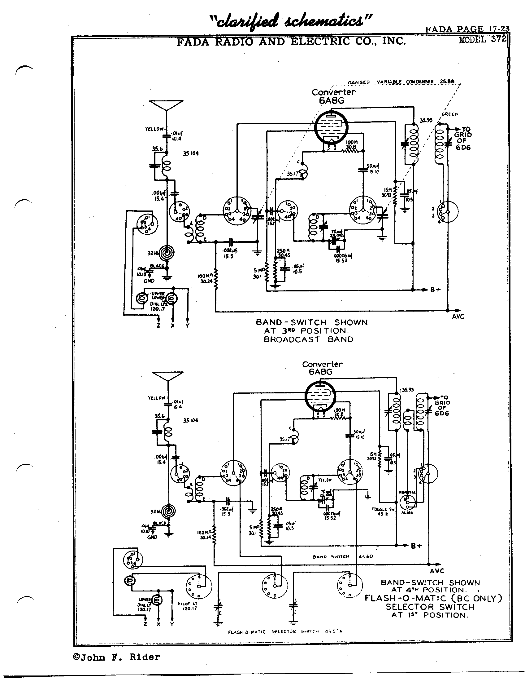 Fada Radio Amp Electric Co Inc 711