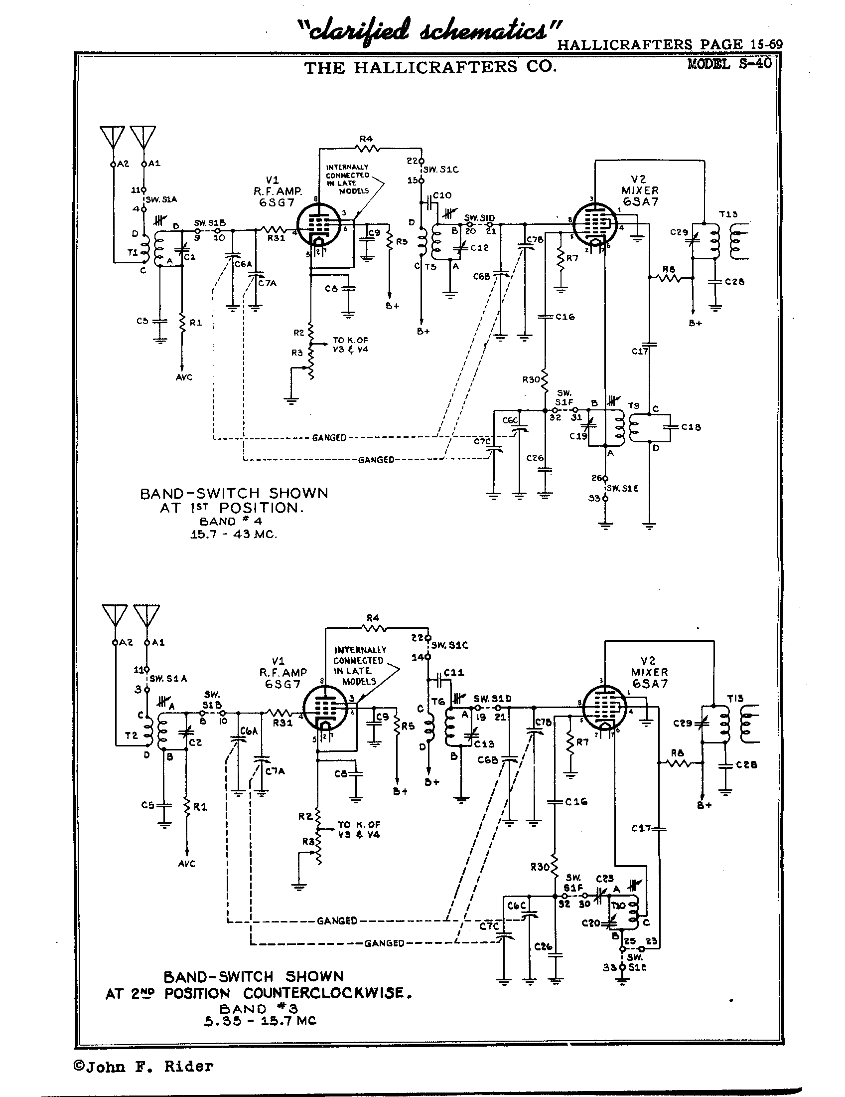 Schematic rh clearwaterclarification array hallicrafters inc s 40 antique electronic supply rh tubesandmore