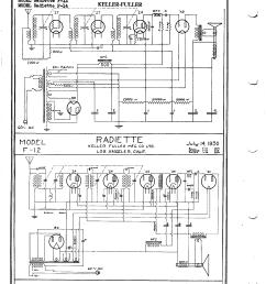 keller fuller radiette f 14 schematic [ 1696 x 2200 Pixel ]
