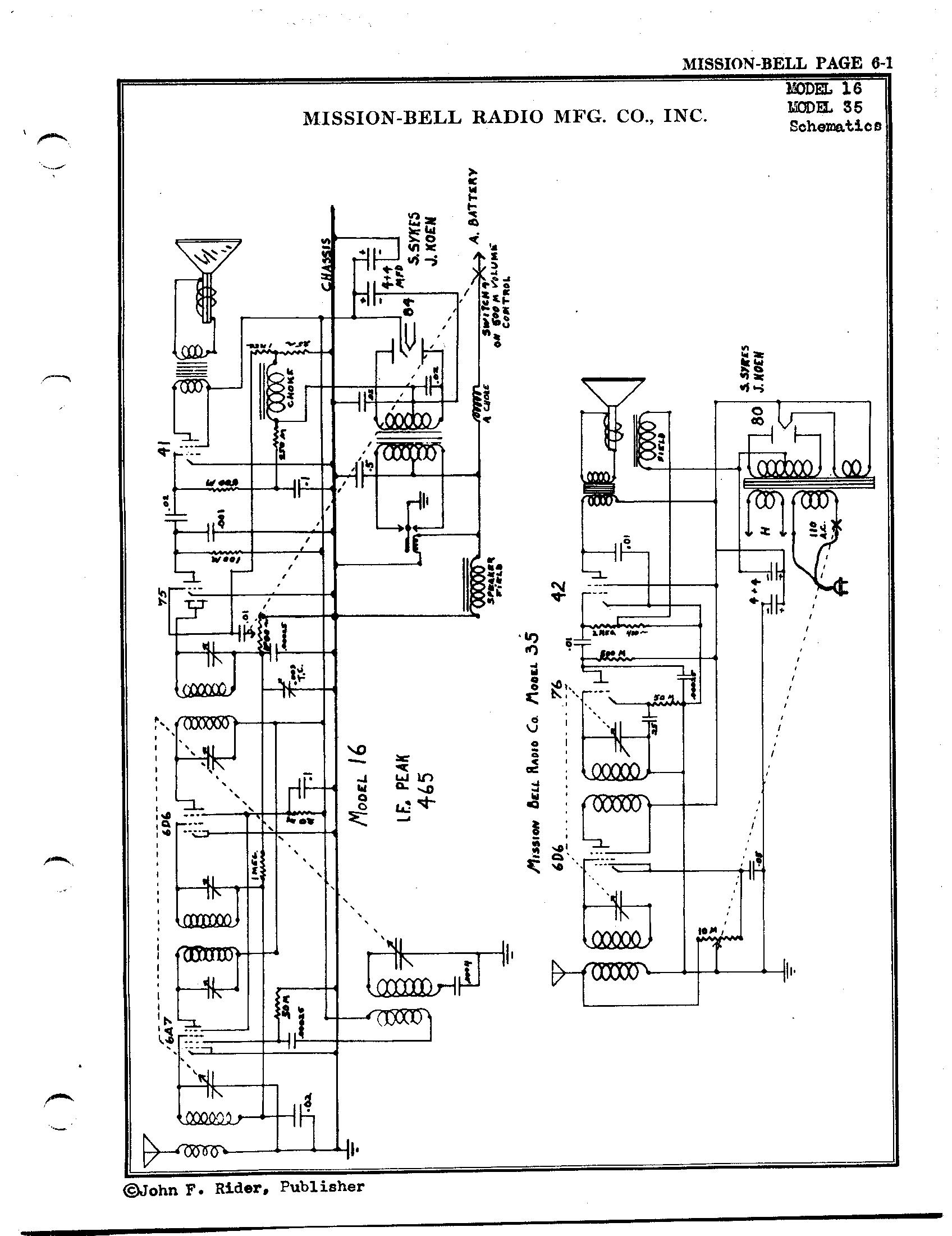 F 16 Schematics