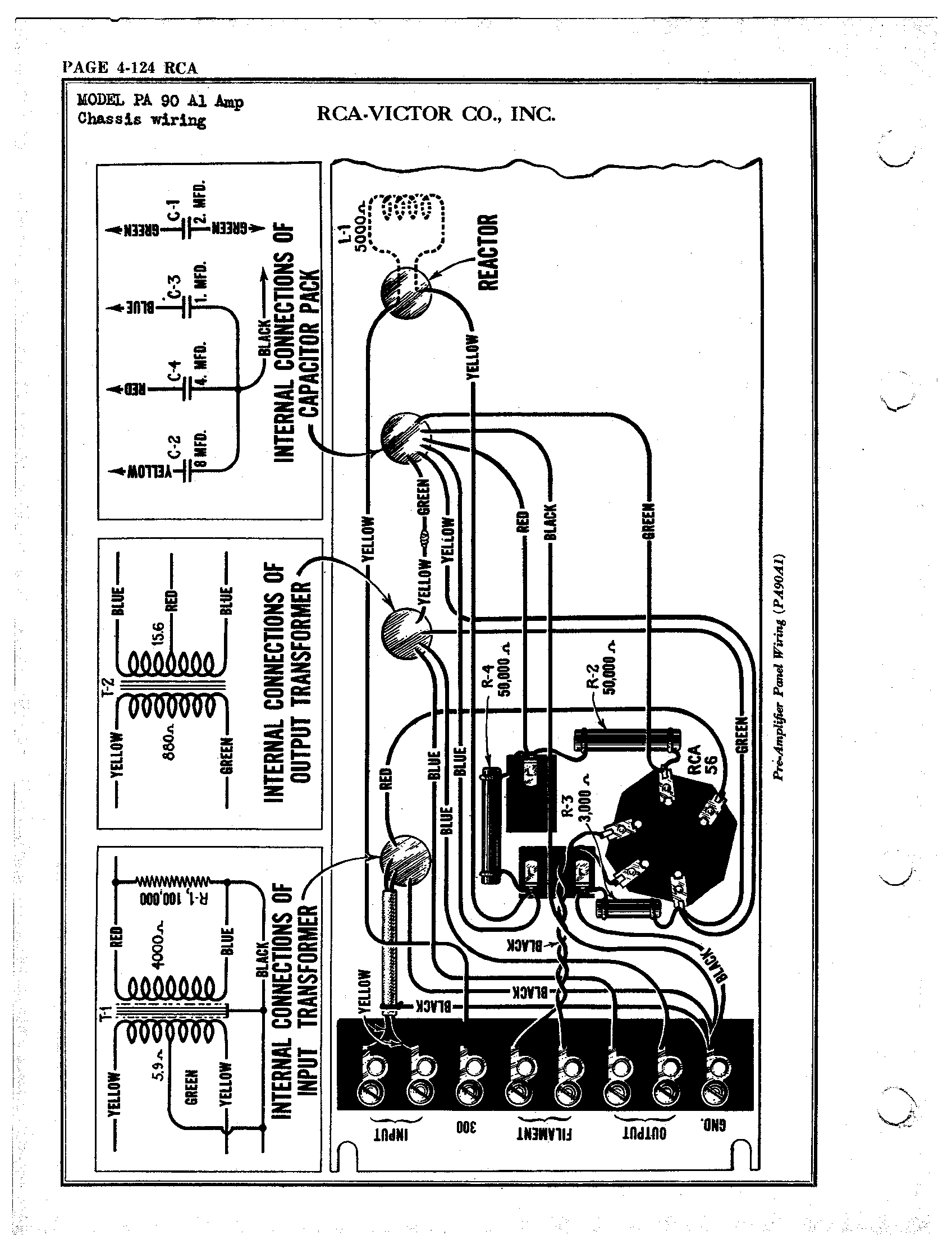 Keyboard Amp Schematics