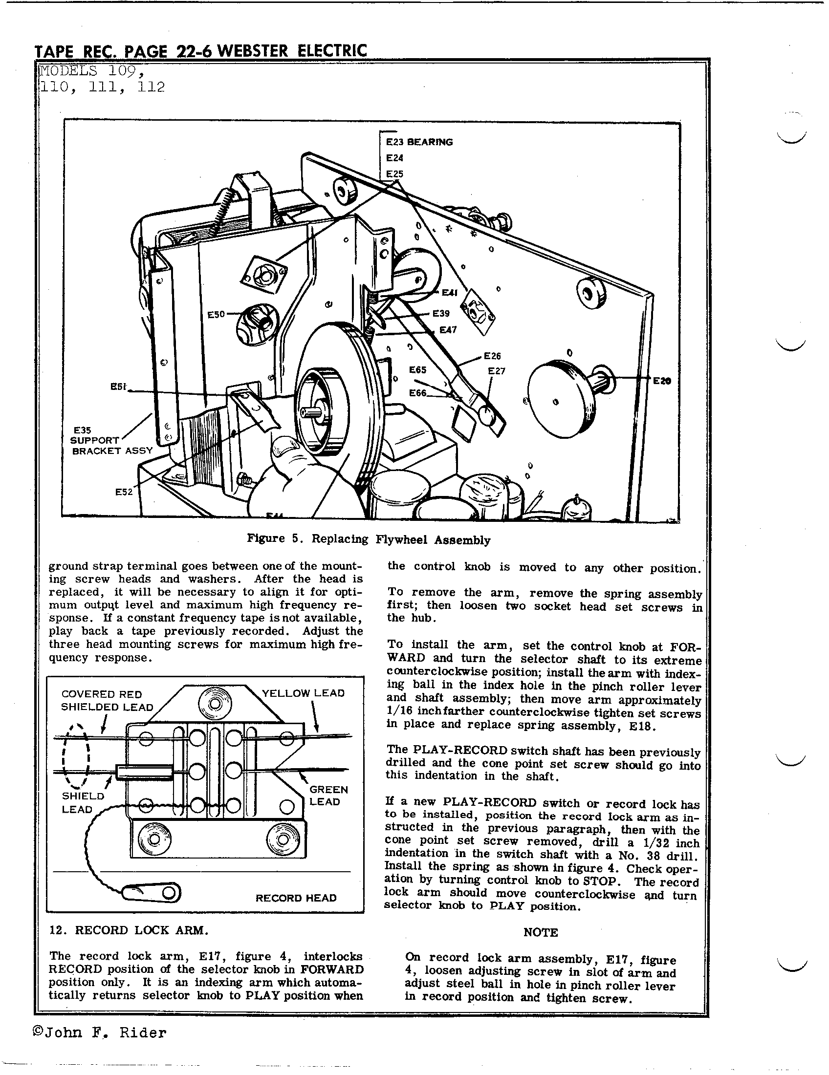 Webster Electrical Corp 111