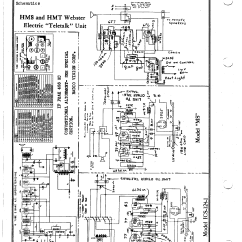 Capacitor Wiring Diagram Mercedes R129 Diagrams Webster Electrical Corp. Hms Teletalk | Antique Electronic Supply