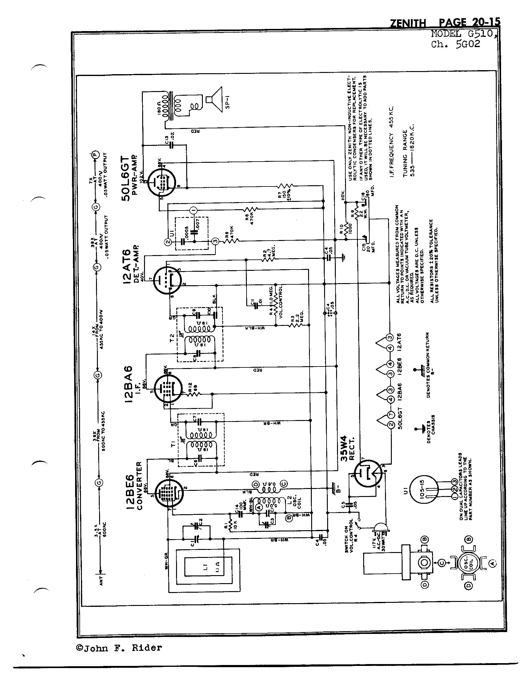 Zenith Radio Corp G510