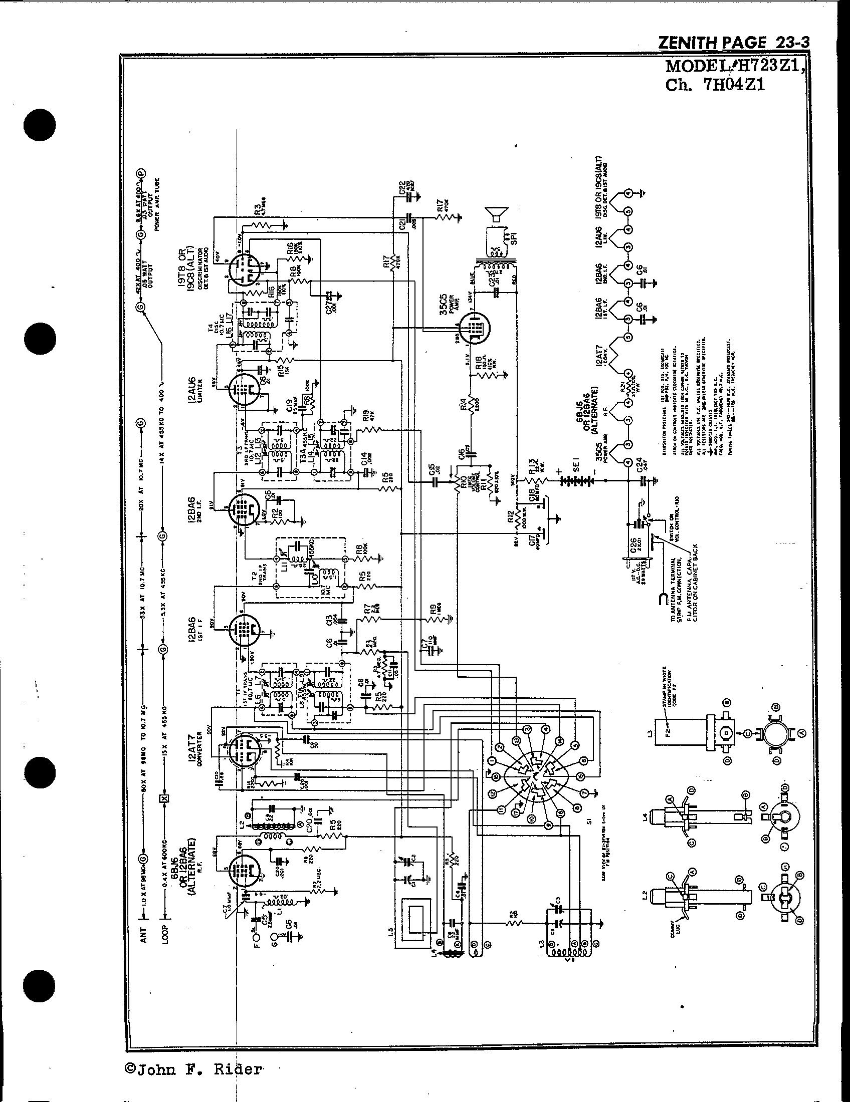 Zenith Radio Corp H723z1