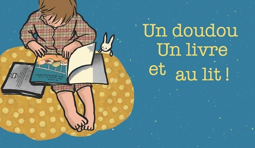 Un doudou, un livre et au lit !
