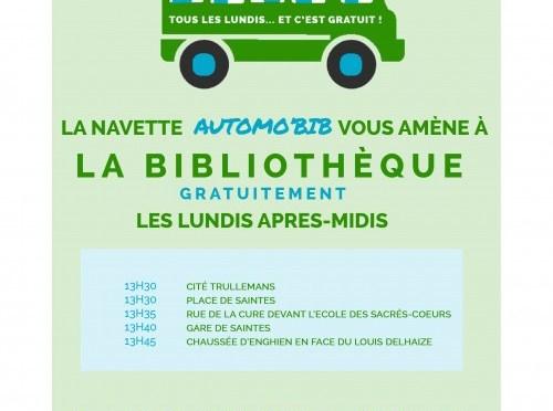 Nouvel horaire de la bibliothèque de Tubize