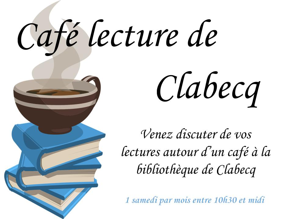 Le café lecture de la bibliothèque de Clabecq