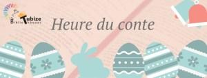 Retour sur l'heure du conte de Pâques