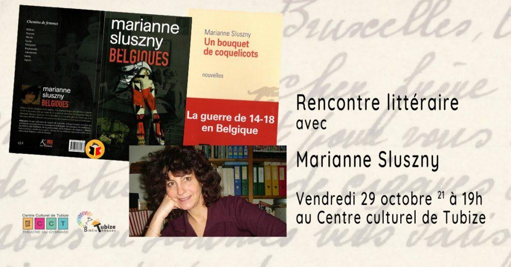 Rencontre littéraire & book-club avec Marianne Sluszny