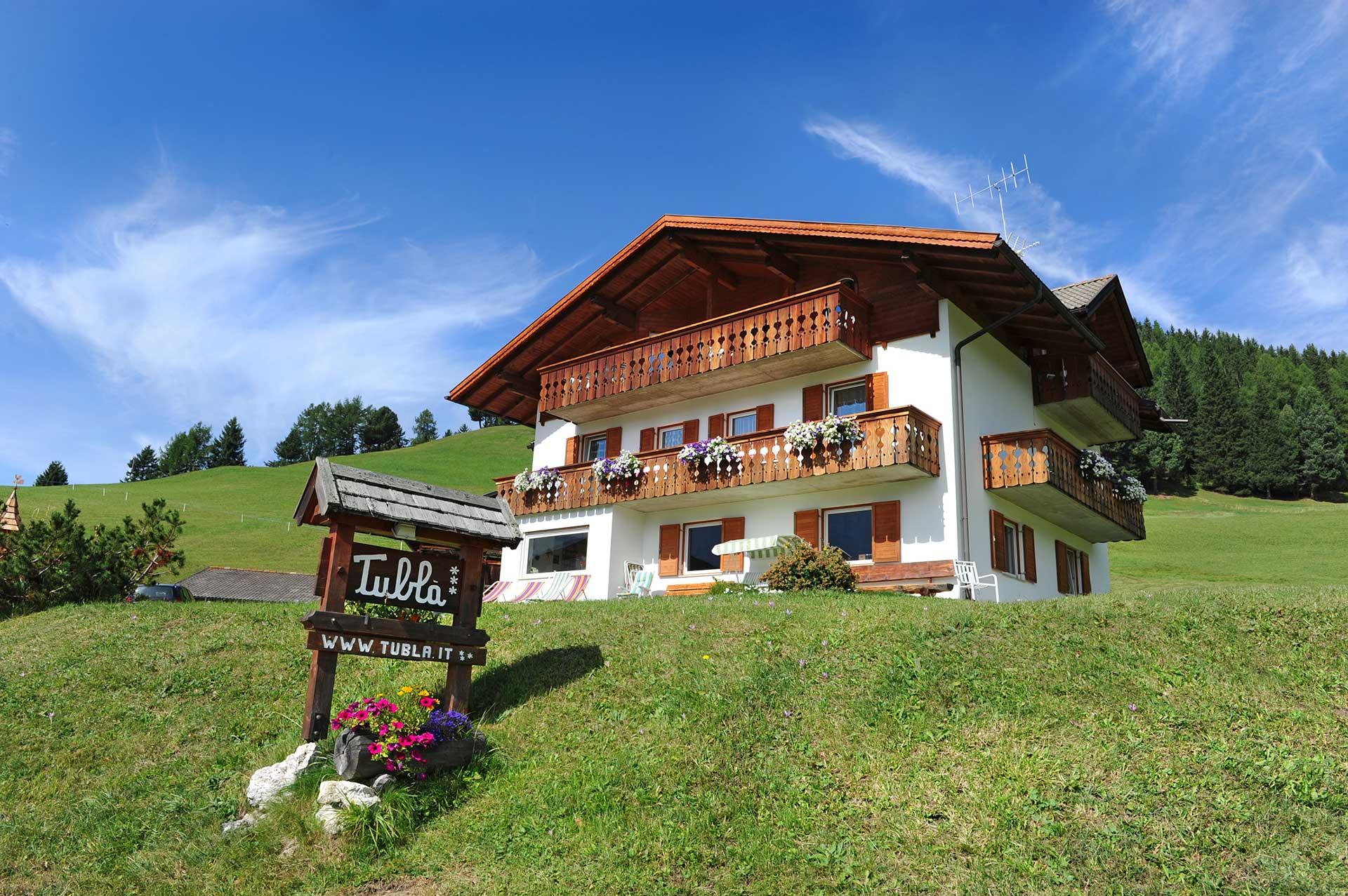Farm Holidays Tubla In Selva In Val Gardena Dolomites