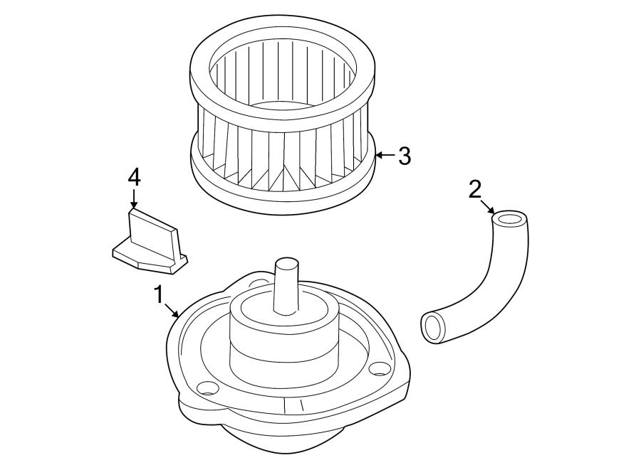 Oldsmobile Intrigue Hvac blower motor. Air, heater
