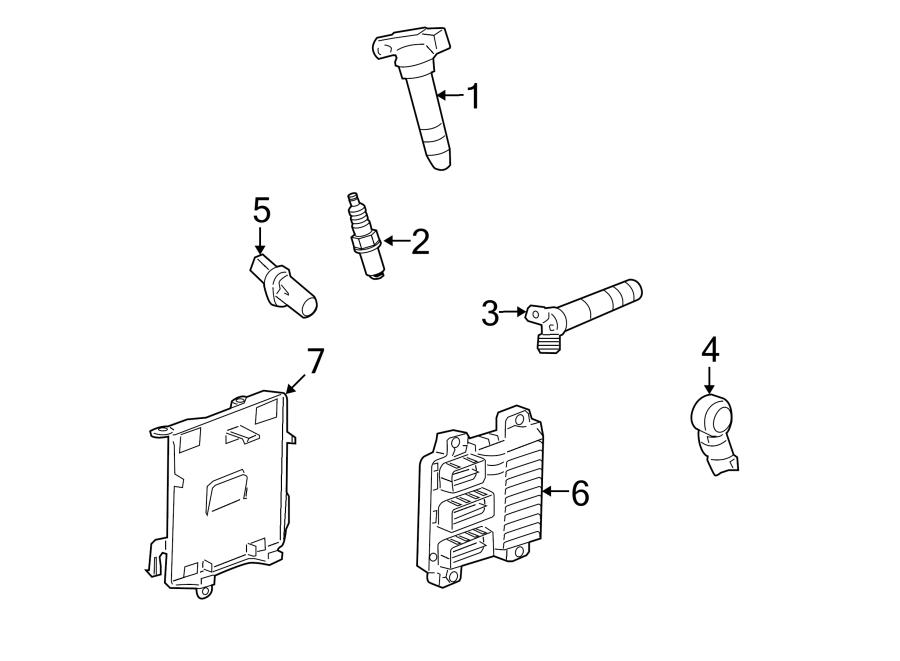 Buick Enclave Engine Camshaft Position Sensor. LITER