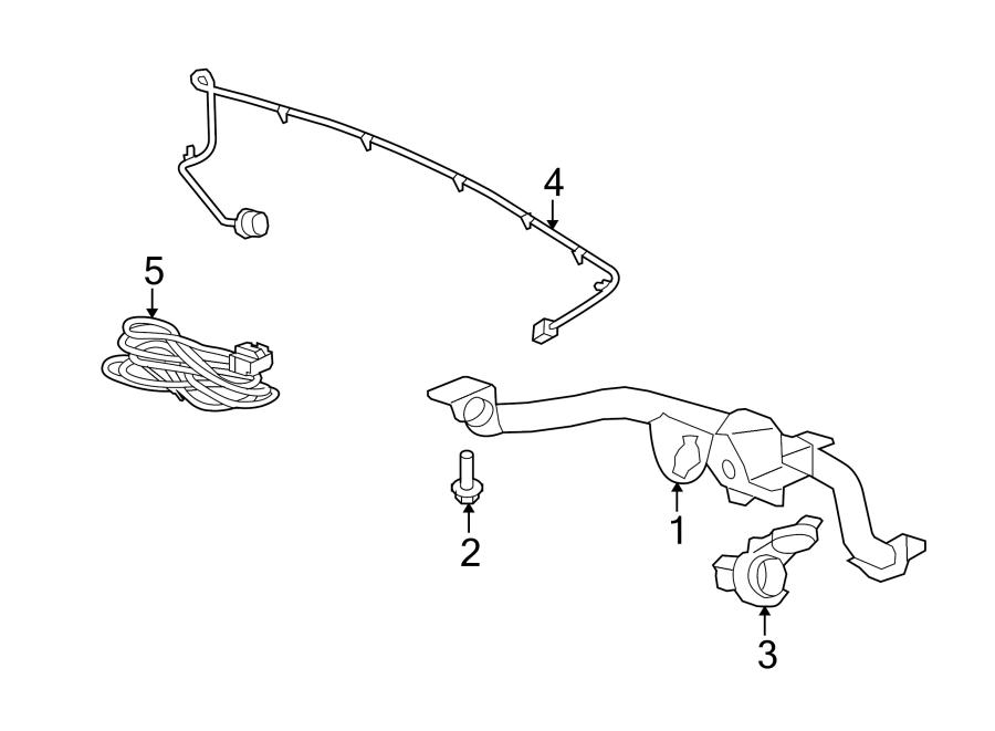 GMC Acadia Denali Harness. Extension. Connector. Wire