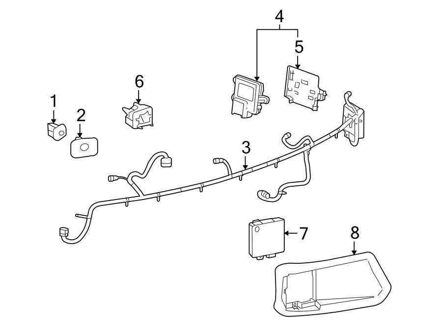 Buick LaCrosse Parking Aid Control Module. LaCrosse