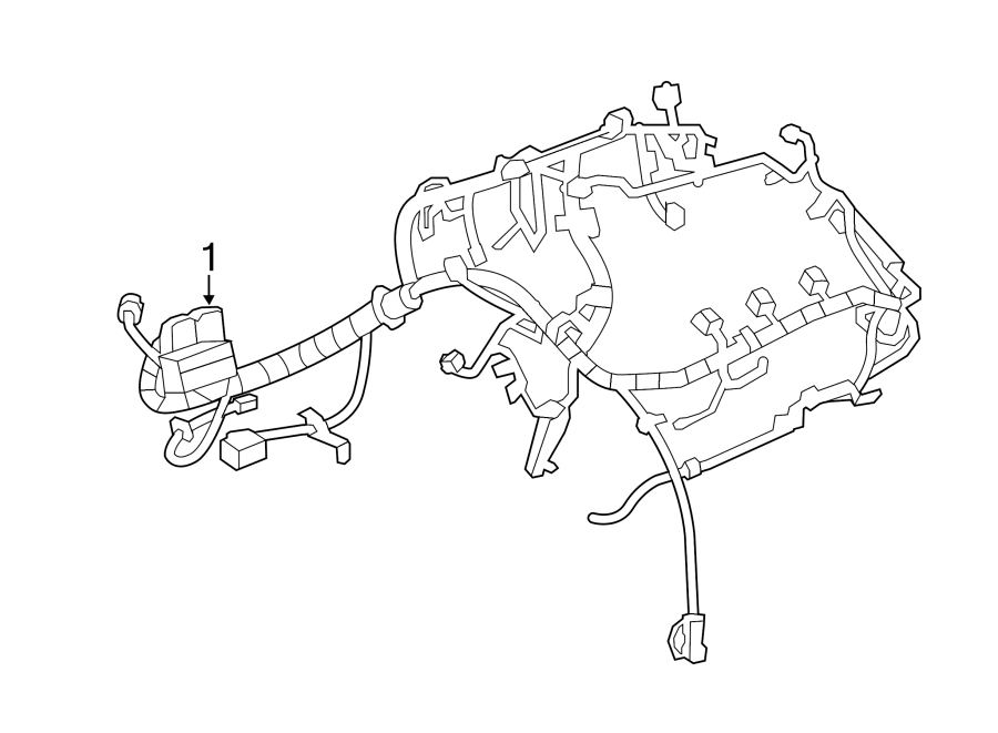Buick LaCrosse Engine Wiring Harness. 3.6 liter, w/o AWD