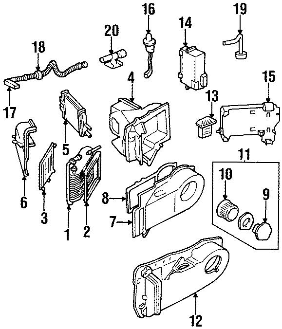 [DIAGRAM] Schematic Diagram 95 Seville Blower Motor FULL
