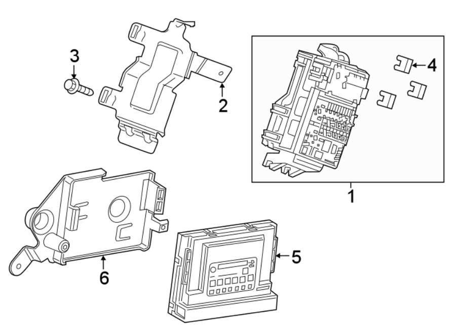 Chevrolet Spark Body Control Module. INSTRUMENT, Make