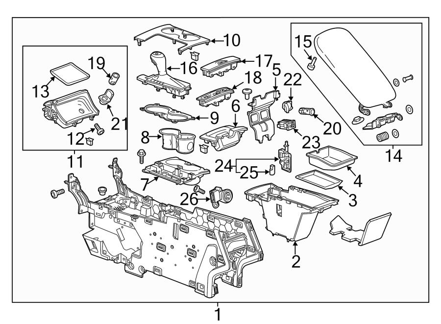 Chevrolet Impala Automatic Transmission Shift Handle