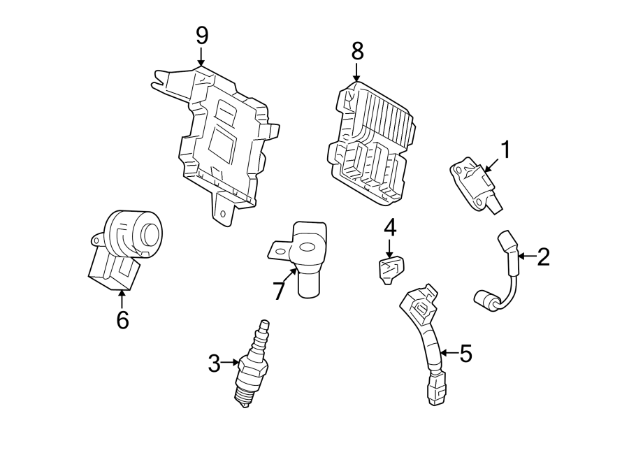 Chevrolet Corvette Engine Crankshaft Position Sensor