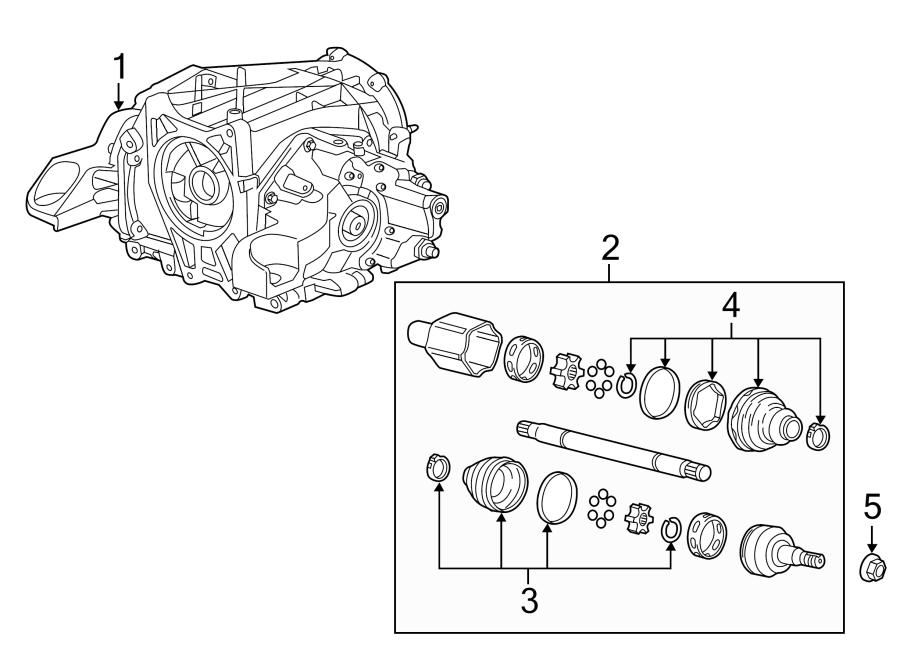 Chevrolet Corvette Stingray Differential. Positracton