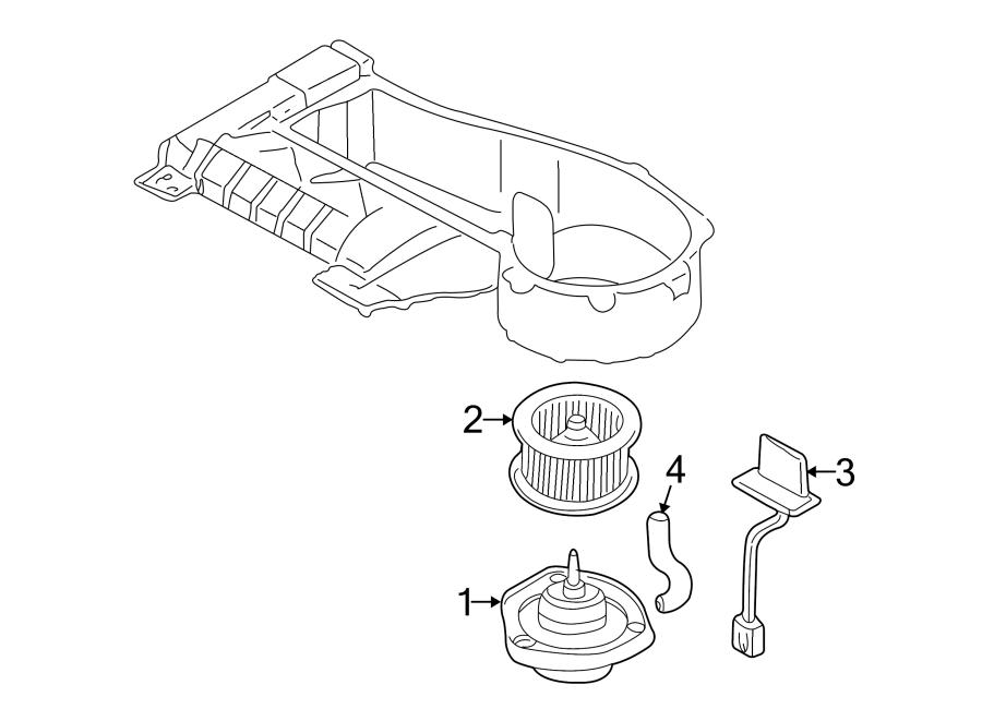 Chevrolet Monte Carlo Hvac blower motor assembly. Motor