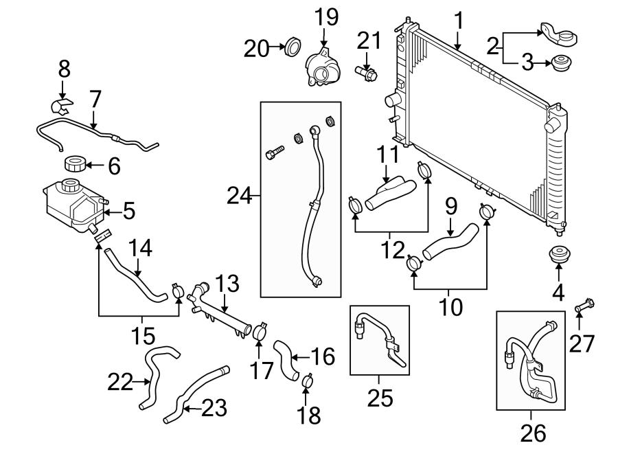 Chevrolet Aveo Radiator Coolant Hose. Trans, Manual