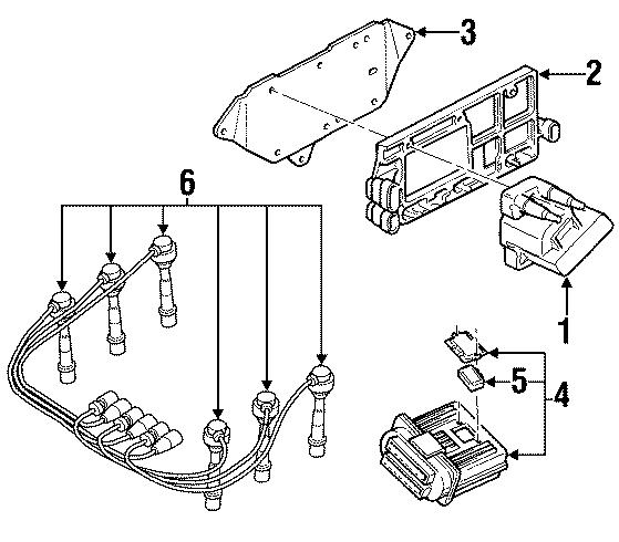 Oldsmobile Silhouette Spark Plug Wire Set. Liter, IGNITION