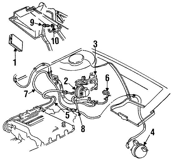 GMC Savana 3500 Hvac heater control valve. Liter