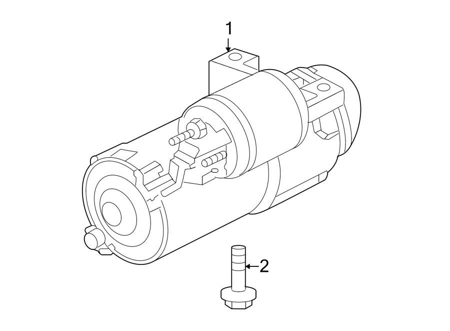 Pontiac Solstice Bolt. Compressor. (Rear). 2.2 LITER. 2.4