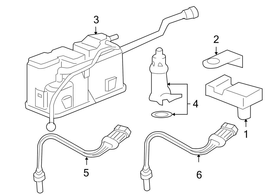 Chevrolet Venture Oxygen Sensor. LITER, Converter, Pre