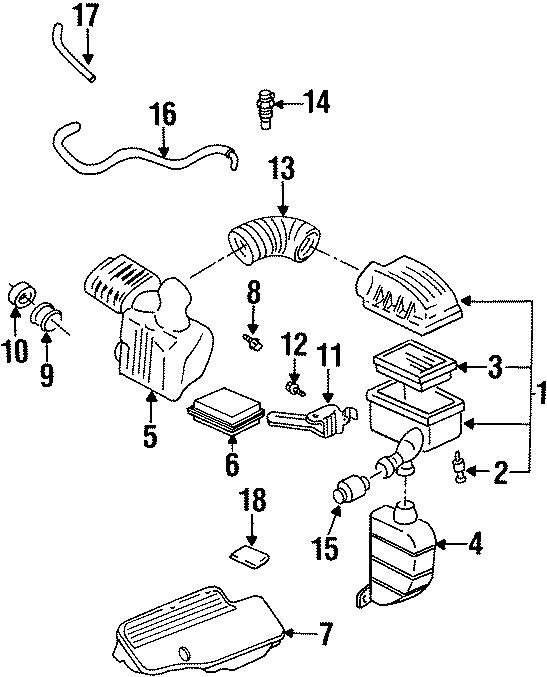 Pontiac Grand Am Door Check Bolt. 1994-98 4 CYLINDER. 2.3