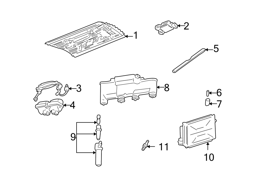 Pontiac Grand Am Direct Ignition Coil Boot. LITER, Plug